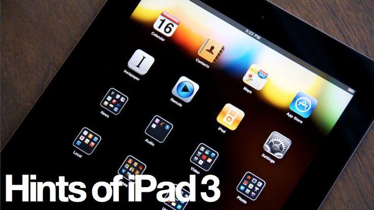iPad3 on my radar - if the price indeed goes down.