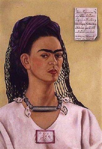 Self-Portrait, 1940, Frida Kahlo