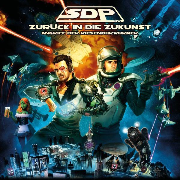 SDP Cover》Zurück in die Zukunst《