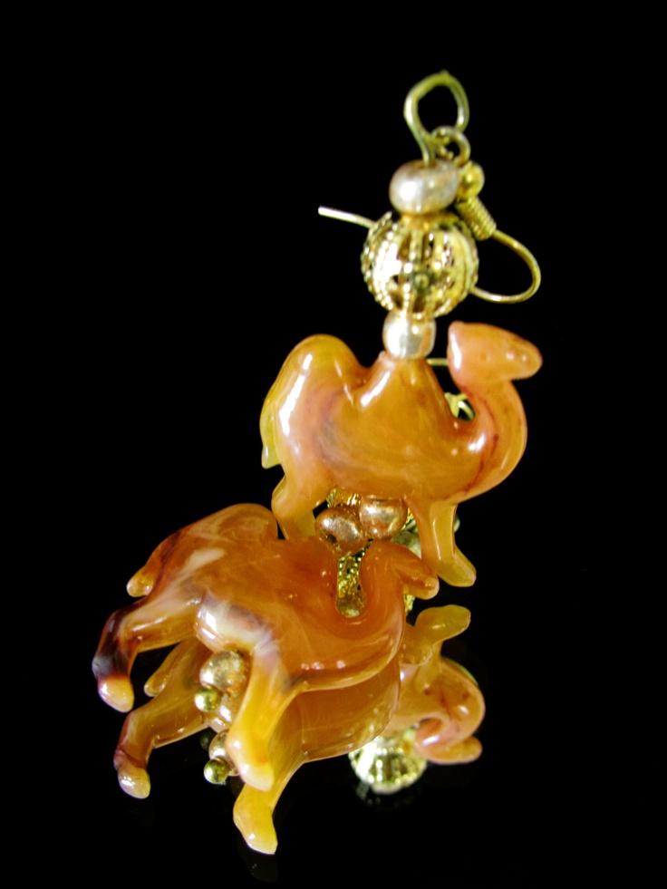 Camels earrings