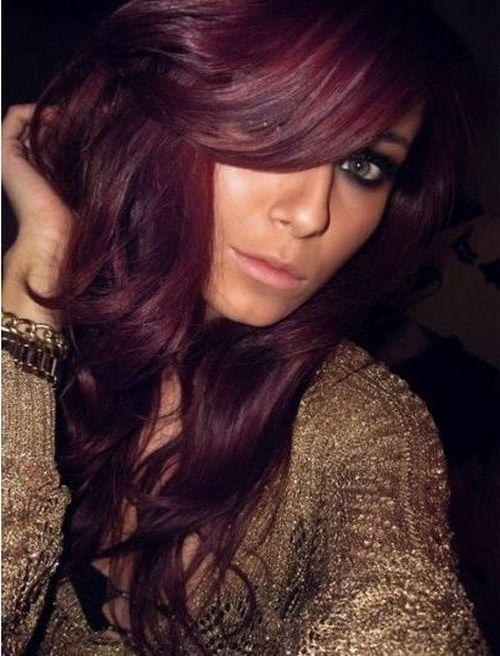 Brown And Burgundy Living Room Decor: Burgundy Purple Hair Color Top Hair Colorists Nyc Burgundy