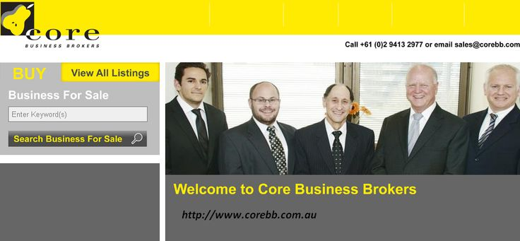Core Business Brokers - One of the best business brokers in SYdney. For more info - http://www.corebb.com.au/