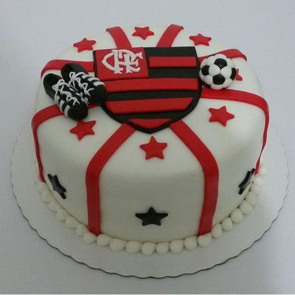 Bolo Decorado tema Flamengo...escolha seu tema e nós fazemos