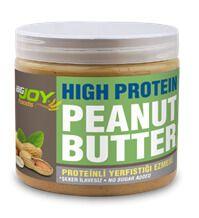 BIGJOY Fıstık Ezmesi Yüksek Proteinli 360 gr, şeker içermeyen ve 100 gramında 36 gram protein içeren gıda dır. BIGJOY Fıstık Ezmesi, özel Arjantin fısıtığı içerir ve son derece lezzetlidir. Katkı maddesi içermez.