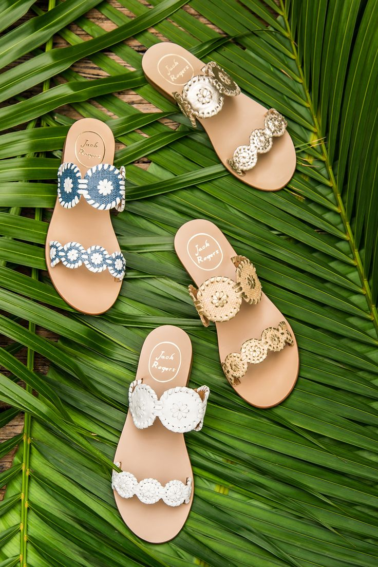 When it comes to the newest sandal from Jackie-O's favorite company, the question isn't if you need new Jacks - it's which color you can manage to live without! The Lauren sandal features more rondelles and whip-stitching than even the classic navajo sandal, and we've seen it start to make headway even in the Navajo-centric Kentucky Derby crowd. #jackrogers