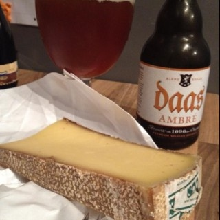 @Tulleehoo  - Untappd Daas Ambre with Comte cheese