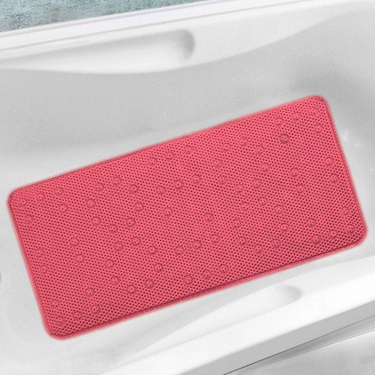 Antibacterial Cushioned Waffle Non Slip Bath Tub Mat