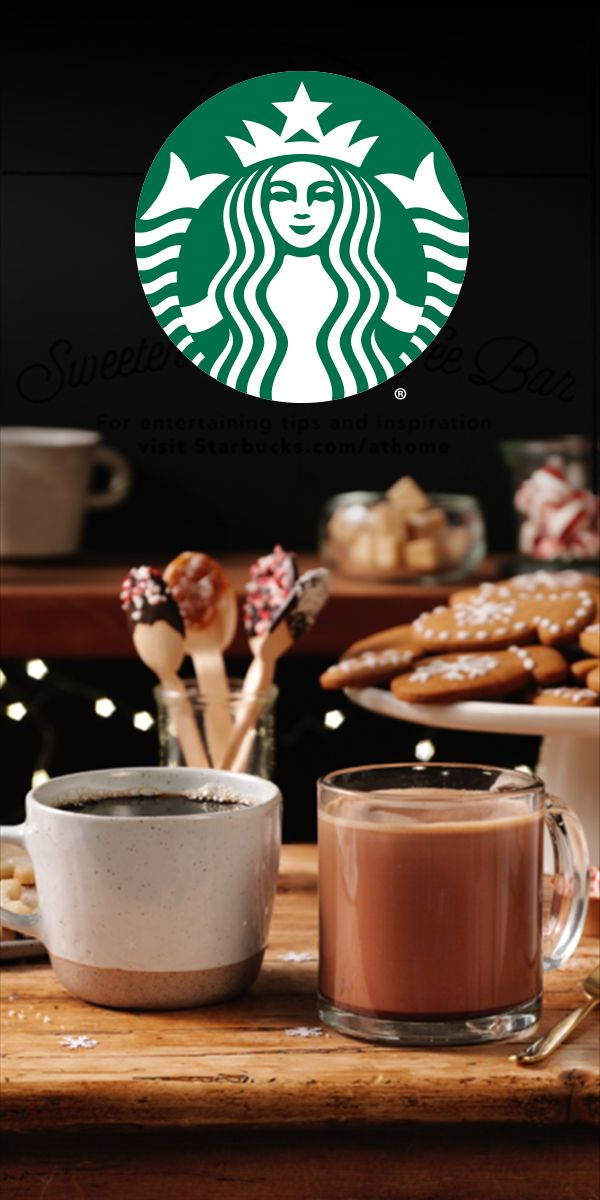 Warm up this holiday season with a cup of Starbucks® Coffee and Tazo® Tea, available at Albertsons.