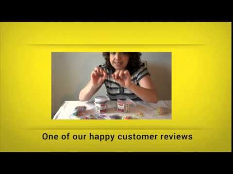Loom Bands for Rainbow Loom Product Review Video