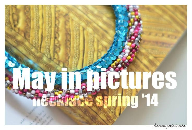 ❀ ✿ necklace // more at : http://www.facebook.com/pages/%C5%A0arene-perle-i-sre%C4%87a/277610758921057