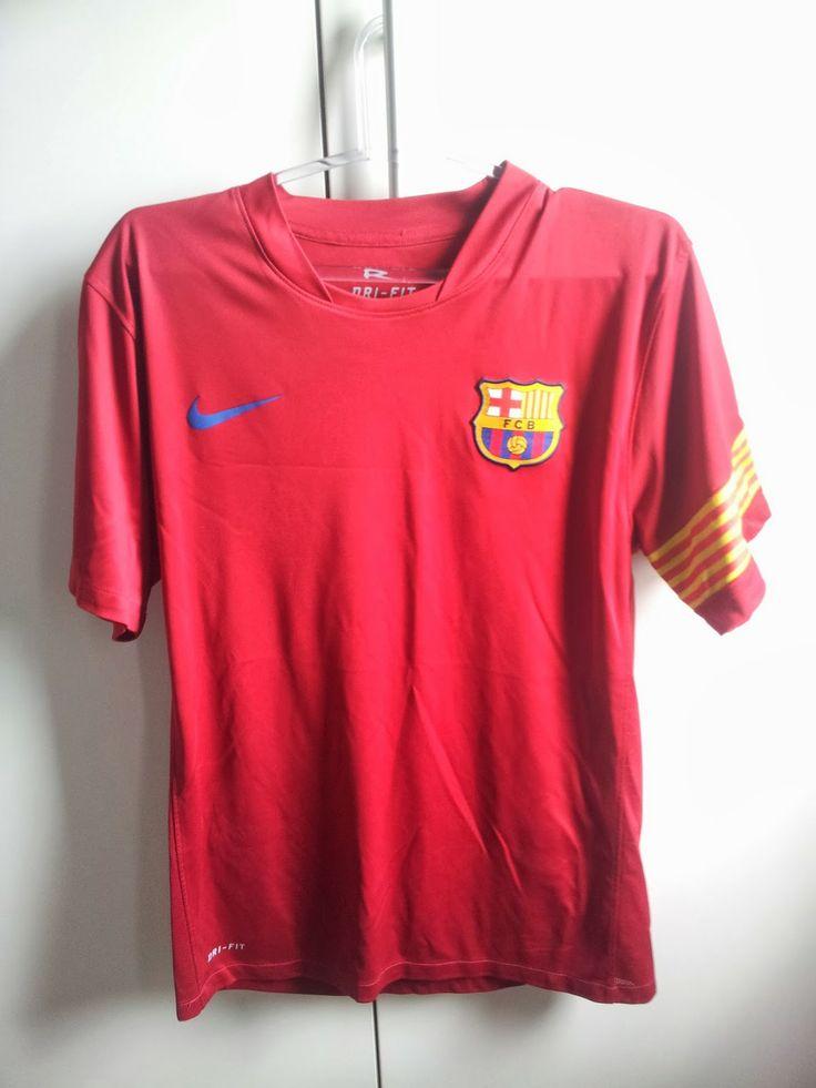 Fábio: Minha coleção de camisa #3 - FC Barcelona