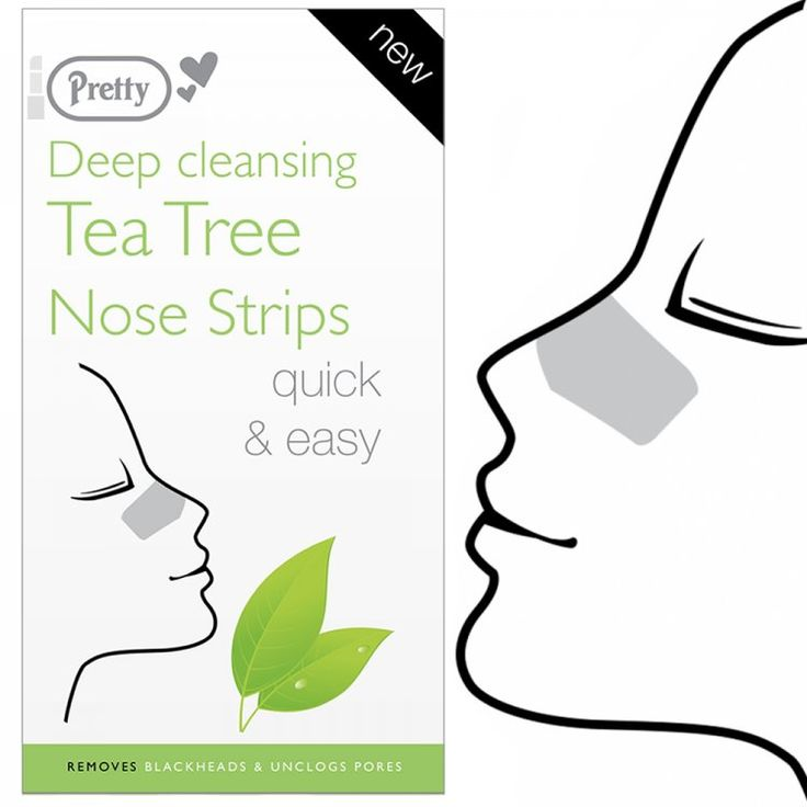 Pretty Deep Cleansing Tea Tree Nose Pore Strips, Pretty Tea Tree Nose Strips offer you a one step solution to help remove blackheads and unclog pores. - Love makeup, love our low prices, view our wide range of products from Pretty / Quest. Postage starts