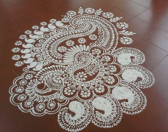 Ugadi Kolam Rangoli Designs: