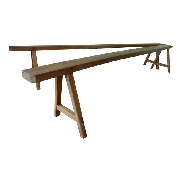 French Country Benches - A Pair | Chairish