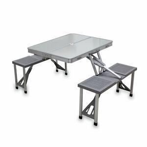 Aluminum Folding Picnic Table W/ Four Seats