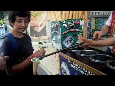 Crazy Turkish Ice Cream Man video