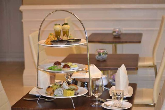 Indian Afternoon Tea & Bottle Of Prosecco for 2 @ Park Grand