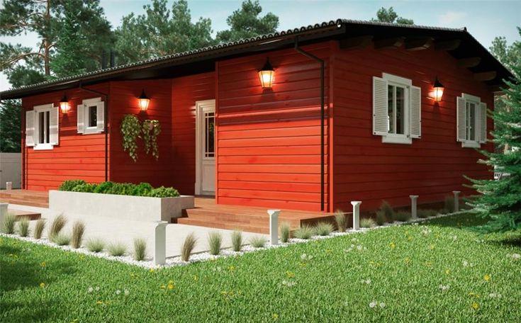 Tienda online donacasa bungalow fenix a 70 m 1000x700 con - Casas con porche ...
