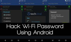 Learn How to Hack or Recover Wifi Password on Android Without Root 2017, Time to start real wifi hacking without rooting your android phone.