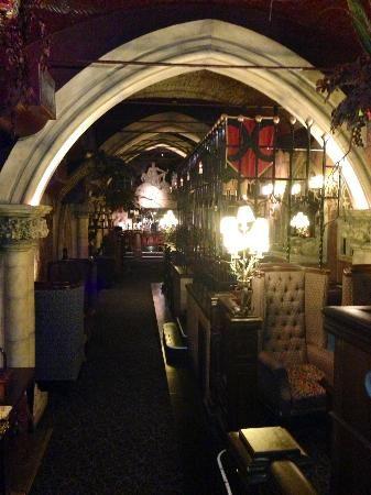 bacchus bar, burlington arcade, birmingham, england