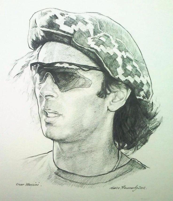 Oscar Mancini. Professional polo player.