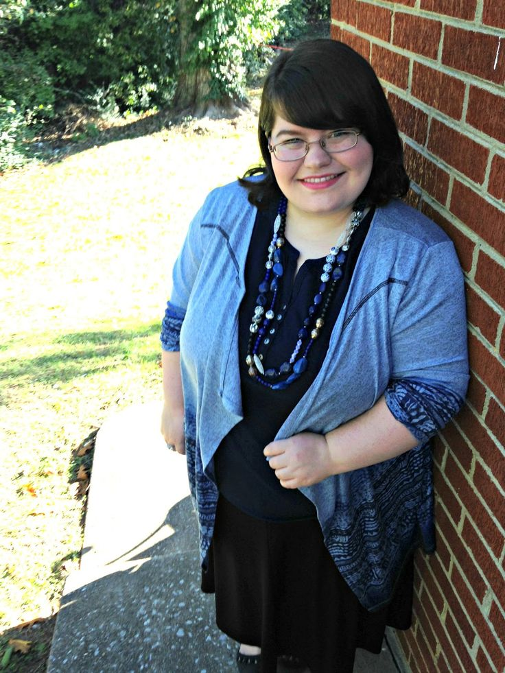 Unique Geek: Plus Size OOTD: Dreaming In Blue: