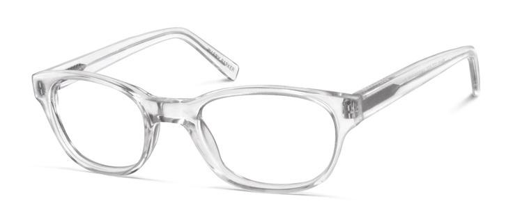 Webb crystal glasses - Steve Alan + Warby Parker