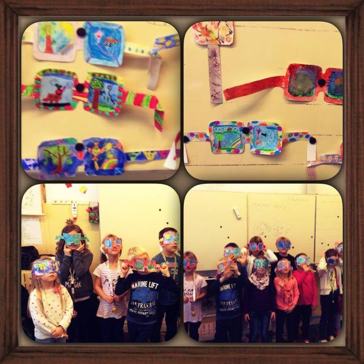 Podzimní brýle.  (1. a 2. třída ZŠ)