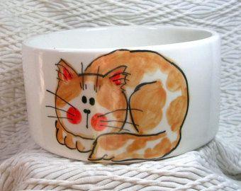 Taza de cerámica pintada a mano Original diseño por GoodNiteGracie