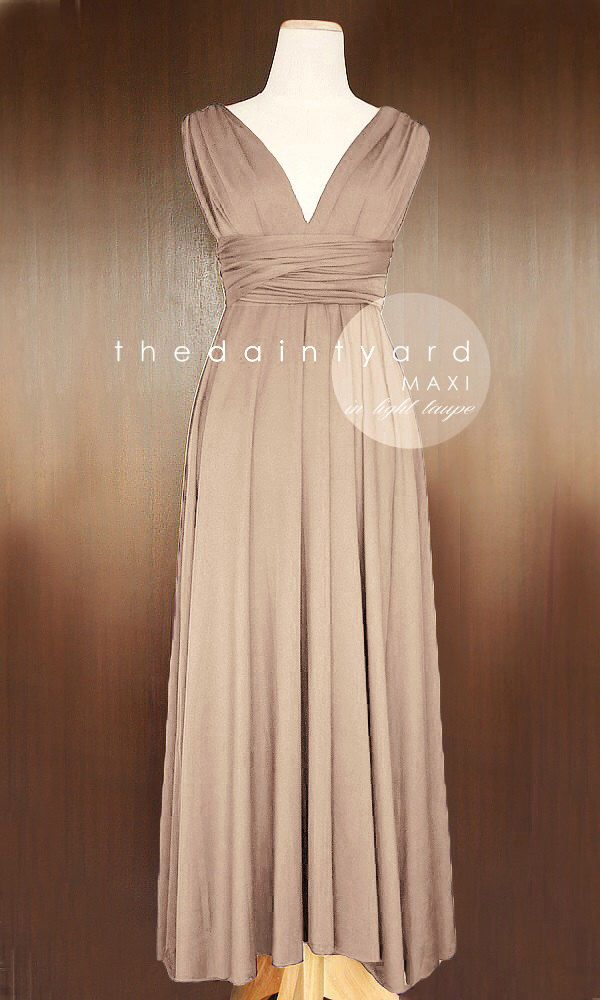 25 Best Taupe Bridesmaid Ideas On Pinterest Ombre