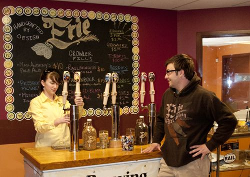 Erie Brewing company - Tours & Tastings - Local Craft Beer Erie, PA. ✅