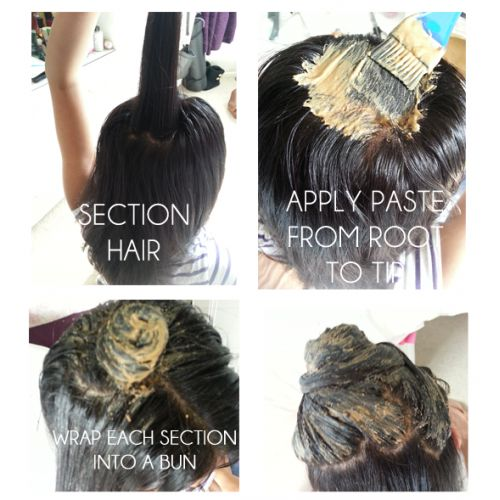 DIY: How to Apply Amla Powder to Your Hair - Helping Hair Fall Out/Growth