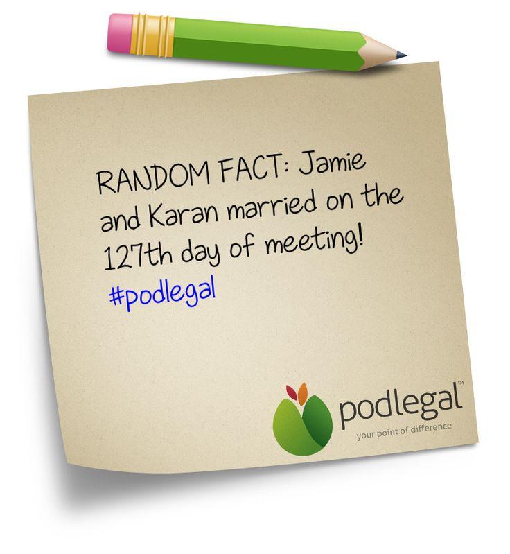 Random #podlegal fact...
