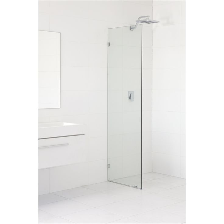 Highgrove 10 x 2000 x 875mm Frameless Glass Shower Panel Kit Bunnings $199
