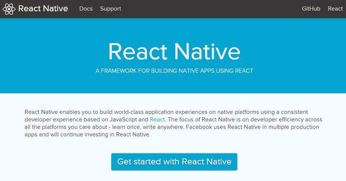 React Native de Facebook para crear apps para iOS y pronto para Android, ahora Open Source!