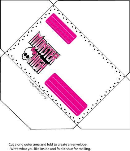 """Diversos moldes prontos do Monster High do siteFamily Shopping Bagpara imprimir uma festinha completa! Para ver a imagem em boa resolução e copiar, clicar com o lado direto do mouse e """"abrir em nova guia"""" ou clicar em cima da imagem! Depois, clicar com o lado direito do mouse e clicar em """"salvar imagem como"""" ..."""