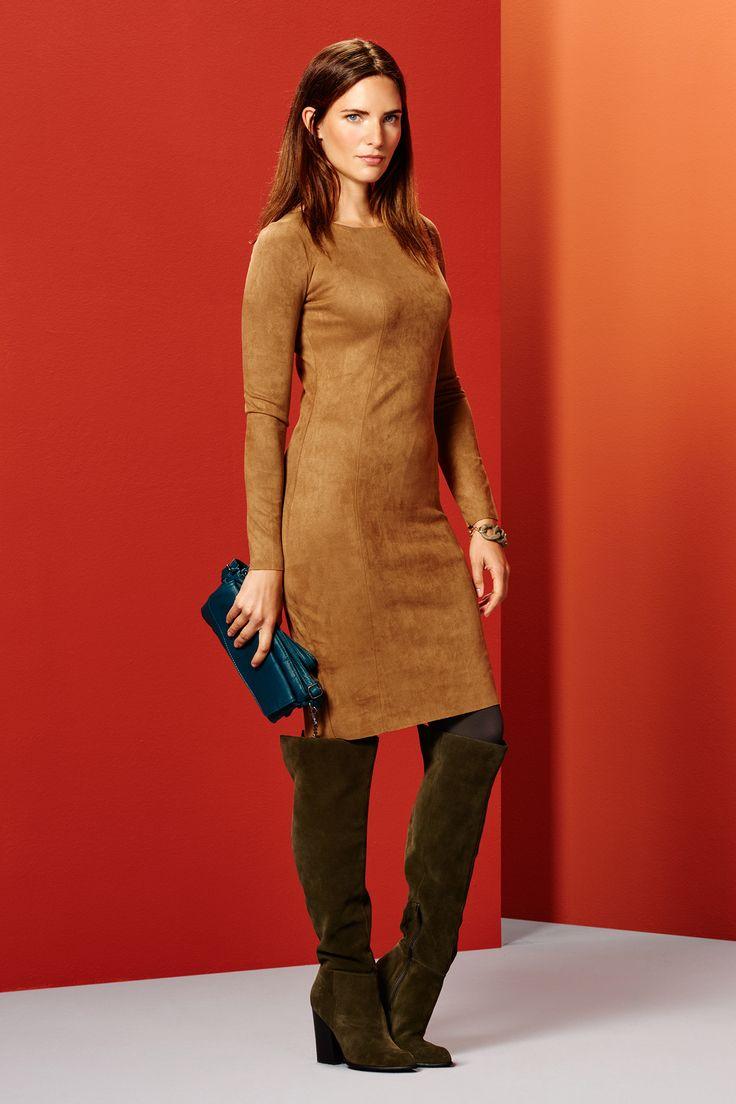 Suedine Dress €69,95 Favorite Bag €24,95 Steps® Officiële Webshop