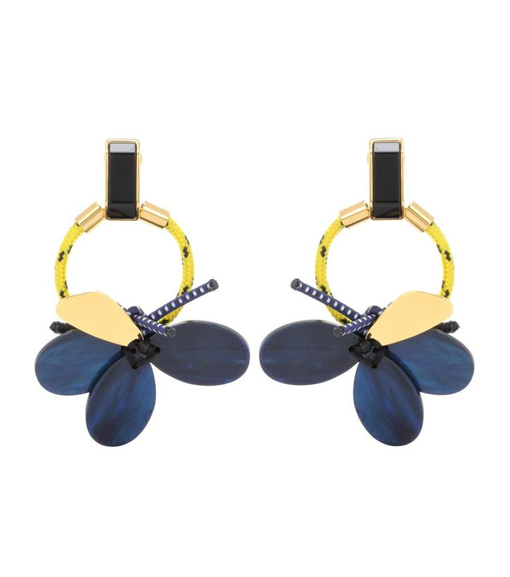 Marni - Beaded clip-on earrings | mytheresa.com