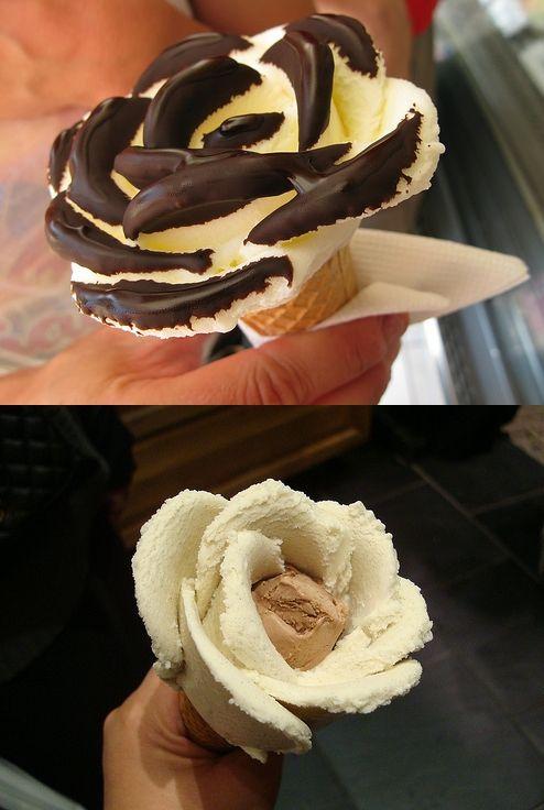 #icecream #roses #diy #genius
