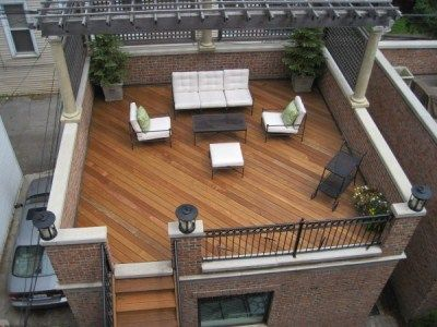 Chicago rooftop decks page 15 deck the roof pinterest rooftop deck rooftop and decking - Houses garage deck rooftop party ...