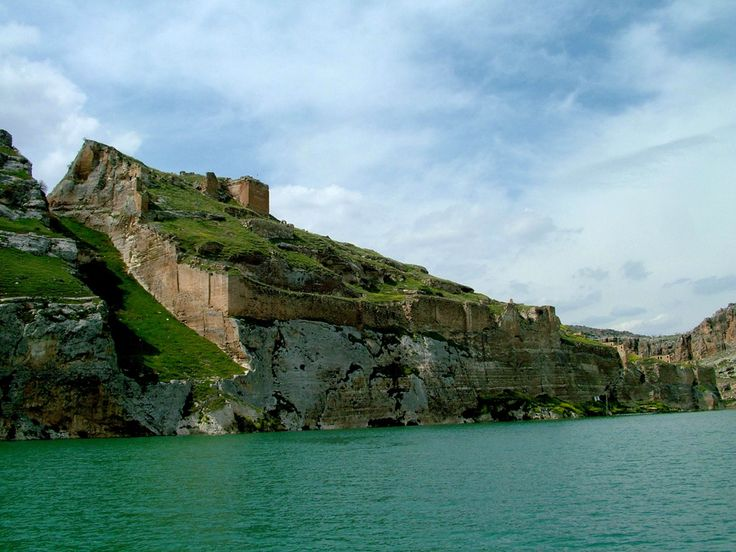 Rumkale fortress on the river Euphrates, Turkey