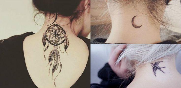<p><span>Você é iniciante nesse~negócio~ de tatuagem? A nuca pode ser uma boa região para começar a rabiscar. A posição estratégica permite, muitas vezes, que os cabelos cubram o desenho - o que salva a vida de muita gente, já que nem todo mundo pode desfilar sua tattoo durante o horário comercial. Navegue nesta galeria e encontre várias ideias para definir a sua!</span></p>