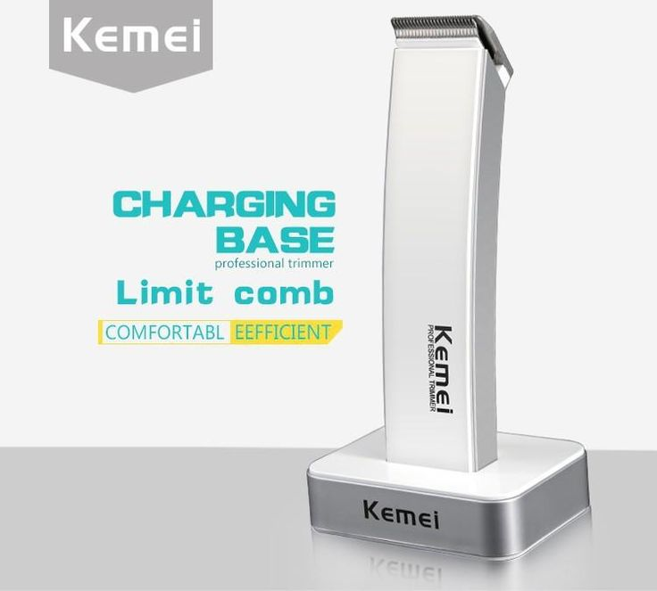 [Visit to Buy] T081 kemei rechargeable hair clipper electric shaving machine maquina de cortar o cabelo razor barber hair cutting beard trimmer #Advertisement