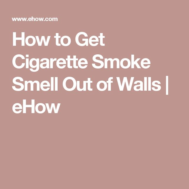 how to get rid of black smoke on walls