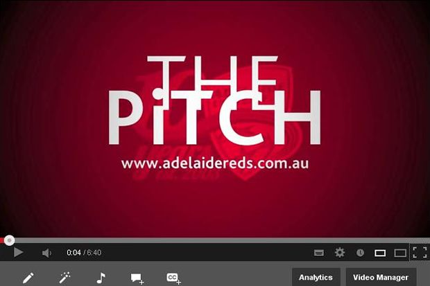 Creative idea from Adealide United by having an interactive blog/video series promoting the efforts of the team