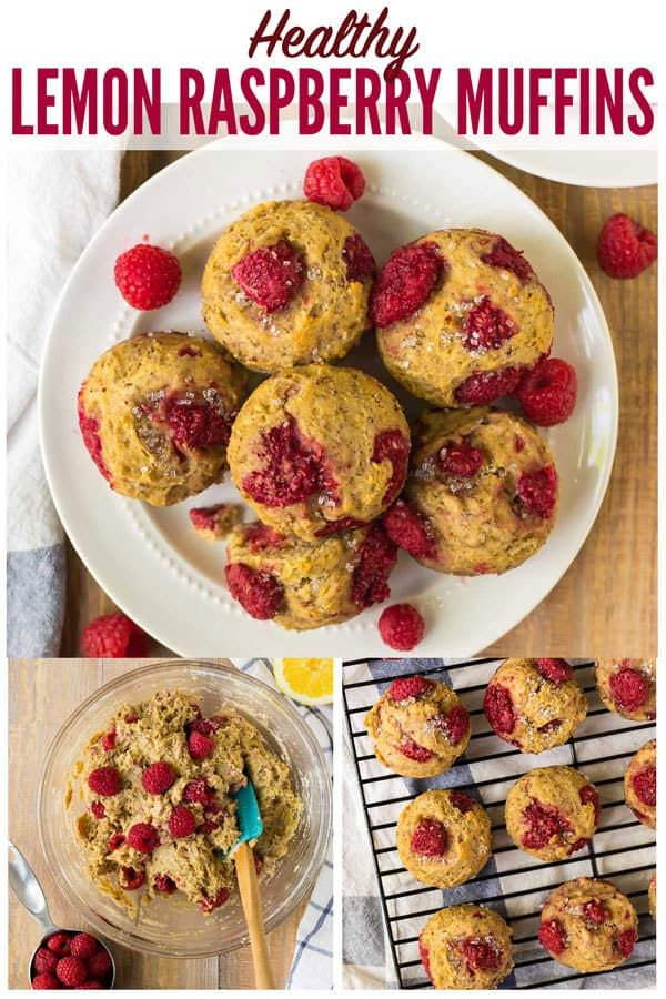 Healthy Raspberry Muffins Moist And Delicious Easy Homemade