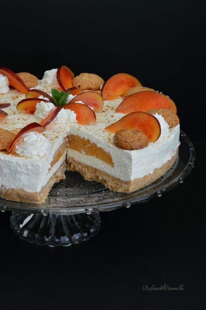 cheesecake alla pesca