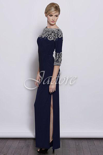 Navy Dress by Jadore