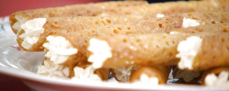 Mary Berry's Brandy Snaps Recipe | The Great Holiday Baking Show