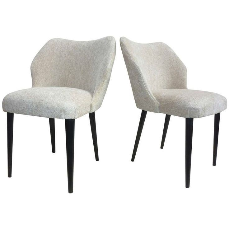 Italian Pair of Chairs by Cantoni Udine | From a unique collection of antique and modern chairs at https://www.1stdibs.com/furniture/seating/chairs/
